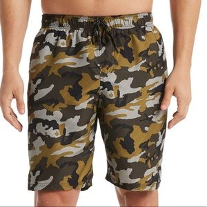 "Nike Men's Camouflage 9""Swim Trunks"